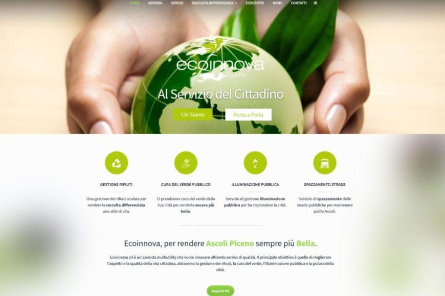 Nuovo sito EcoInnova al servizio del cittadino