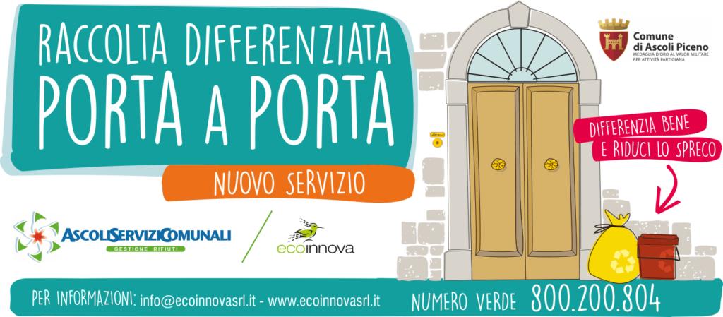 nuovi prodotti per acquisto genuino bel design Raccolta Porta a Porta – Ascoli Piceno – EcoInnova Srl ...