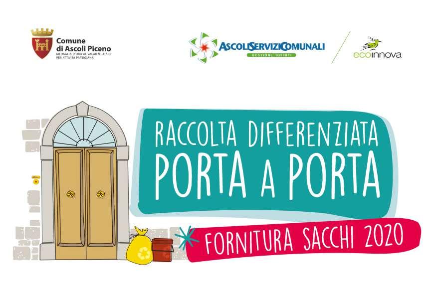 Distribuzione Sacchetti Ascoli Piceno Ax2020